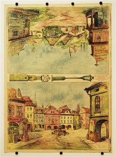 c. 70 / c. 72 / c. 104 / c. 105. [Teile für Dorf- und Stadt-Dekorationen, Stapfer`s Familientheater]