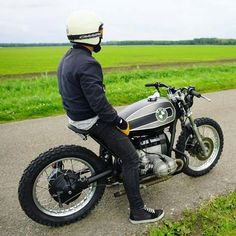 The Clubhouse Cafe : Photo Bmw Cafe Racer, Moto Cafe, Custom Cafe Racer, Cafe Racers, Bmw Scrambler, Honda Cx500, R65, Bmw Boxer, Grom Motorcycle