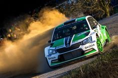 Skoda - The Barum Zlin Rally of the Czech Republic Skoda Fabia, Rally Car, Exotic Cars, Cars And Motorcycles, Race Racing, Racing Wheel, Engineering, Sport, Vehicles