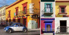 Oaxaca arquitetura colonial.