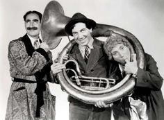 the Marx Brothers, American comedic actors (1900s-1950s)