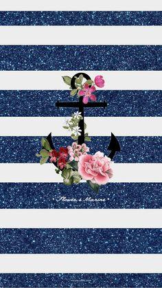 Smile Wallpaper, Rose Gold Wallpaper, Cute Wallpaper For Phone, Hello Kitty Wallpaper, Iphone Background Wallpaper, Wallpaper Pc, Cellphone Wallpaper, Anchor Wallpaper, Nautical Wallpaper