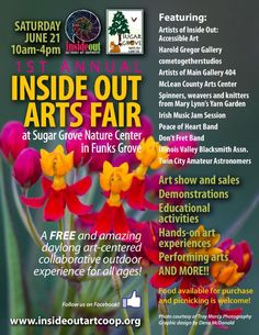 Inside Out Arts Fair at Sugar Grove Nature Center in Funks Grove