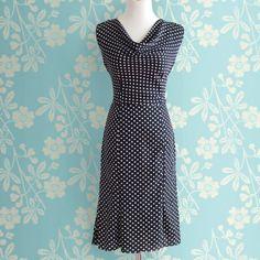 Date Night Dress – Kleid mit Wasserfallausschnitt