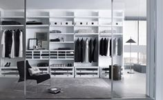 Charming White Walk In Closet Design Ideas With Open Clothes Shelves As Well As Clothes Rod Added Drawers In Master Closet Designs Walk In Wardrobe Design, Open Wardrobe, Wardrobe Closet, Master Closet, Closet Space, White Wardrobe, Closet Doors, Capsule Wardrobe, Master Bedroom