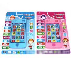 Anak bayi Musik Awal Belajar Mainan Elektronik Suara Mainan Pendidikan anak-anak merek Ponsel baru 2016 Hot Sale