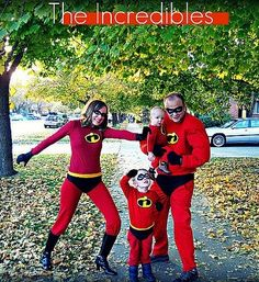 Family Halloween Costume Ideas – The Incredibles ( We have been talking about this for years) maybe this year