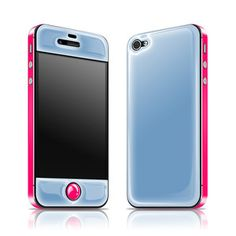 Buying it! iPhone 4/4S Glow Gel Blue Pink now featured on Fab.