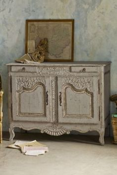 Ivonne Sculpted Cabinet from Soft Surroundings