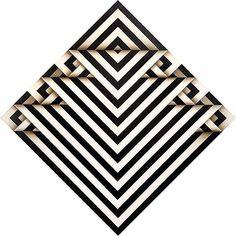 Cool striped square ♥ Omar Rayo