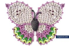 [Free Pattern] Do You Like Butterflies? If You Do, You'll Love This Gorgeous Crochet Butterfly Pattern - Knit And Crochet Daily