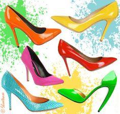 Colored Heels