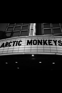 The arctic monkeys are so important. SO IMPORTANT.