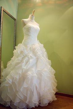 Custom Sweetheart Tulle Wedding Dress/Bridesmaids by KarenTrends, $398.00