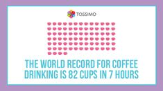 World record for coffee drinking Funny Coffee, Coffee Humor, World Records, Coffee Drinks, Drinking, Words, Beverage, Drink, Horse