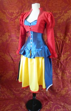 What a fantastic outfit!! Snow White Corset OutfitWhole Corset OutfitTo by AliceAndWillow, $299.00