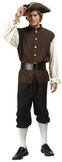 Colonial Man Adult Costume - Colonial Costumes  sc 1 st  Pinterest & 56 best Colonial Costumes images on Pinterest   18th century fashion ...