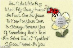 ladybug poem - Google Search