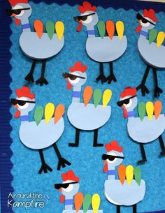 Thanksgiving writing with one very persuasive Pigeon! A little twist on disguise-a-turkey, the body is a booklet where students write to convince their families to eat hot dogs instead of turkey on Thanksgiving! Thanksgiving Writing, Thanksgiving Activities, Thanksgiving Treats, Thanksgiving Turkey, Preschool Decor, Preschool Bulletin Boards, Fun Writing Activities, Preschool Activities, Art For Kids