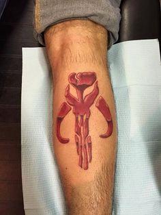 Star Wars Mandalorian Tattoo