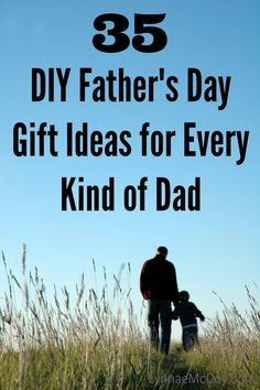 35 DIY Father's Day Gift Ideas for Every Kind of Dad #fathersday