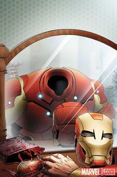 ✭ Invincible Iron Man #31 Vampire Variant by Salvador Larocca