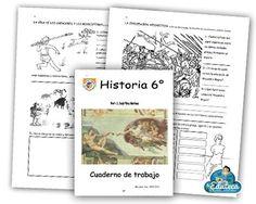 La Eduteca: RECURSOS PRIMARIA | Cuadernillo de actividades de Historia para 6º de Primaria
