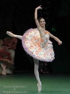 Polina in a great tutu!!! by maddalena bellin