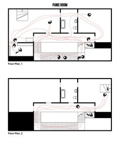 Cinema e Arquitetura: As plantas dos grandes clássicos do Cinema