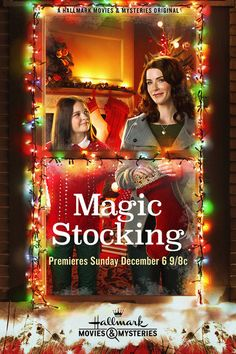 Magic Stocking (December A Wonderful Movie . – 💖 ~ Berde ~ 💖 Magic Stocking (December A Wonderful Movie . Magic Stocking (December A Wonderful Movie . Hallmark Holiday Movies, Hallmark Weihnachtsfilme, Family Christmas Movies, Hallmark Holidays, Christmas Shows, Family Movies, Hallmark Channel, Christmas Christmas, Magical Christmas