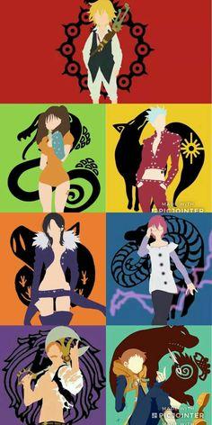Seven Deadly Sins! -Chloe The Seven Deadly Sins! -Chloe , The Seven Deadly Sins! All Anime, Otaku Anime, Anime Naruto, Manga Anime, Seven Deadly Sins Anime, 7 Deadly Sins, 7 Sins, Seven Deady Sins, Hxh Characters