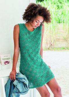 Узор для изумрудного платья спицами. | Вязание: Для женщин | Постила