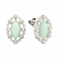 LC Lauren Conrad Marquise Stud Earrings= Birthday present this past year!
