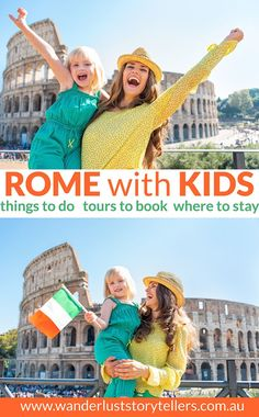 The ultimate guide to traveling to Rome with kids! Top 10 things to do in Rome with kids - Best family hotels in Rome & Rome family tours. Click to read the post! via @wstorytellers