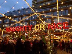 The Toronto Christmas Market #torontochristmasmarket #toronto #distillerydistrict #ontario #christmasmarkets #thingstodointoronto Light Tunnel, Visit Canada, Holiday Market, The Beautiful Country, Best Blogs, Little Christmas, Distillery, Installation Art, Great Places