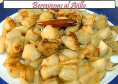 Simple recipes and traditional cuisine for the whole family, very rich, ah! Cocina Natural, Eggplant Recipes, Light Recipes, Raw Vegan, Bon Appetit, Tapas, Healthy Life, Macaroni And Cheese, Food And Drink