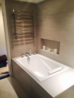 Finished Classic Bathroom, Bathroom Renos, Corner Bathtub, Vancouver, Corner Tub