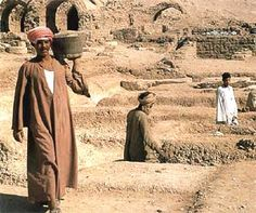 An archeaological site in Egypt...