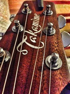 Takamine, my favorite acoustic guitar brand!