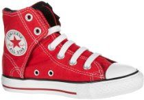 red hi-top converse Sneakers Mode, Classic Sneakers, Sneakers Fashion, High Top Sneakers, Red High Top Converse, Red Chucks, Converse Shoes, Boy Shoes, Cute Shoes