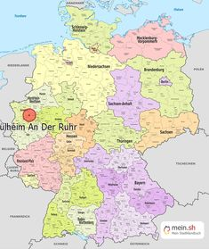 Germany Map With Cities And States.Map Of Germany With Cities And Towns Hopefully Up Above You Found