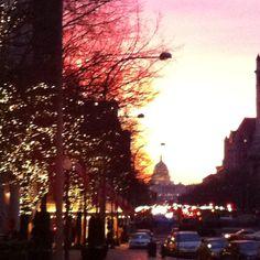 DC at dawn