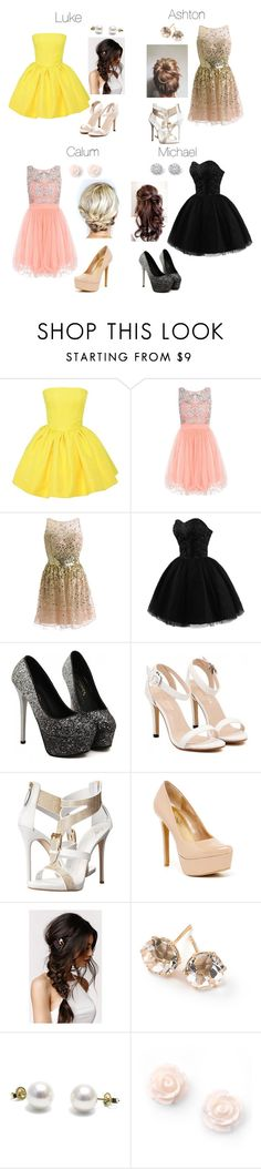 """""""5sos Preference- KCA's"""" by kellimichele7 ❤ liked on Polyvore featuring Martin Grant, Giuseppe Zanotti, Jessica Simpson, With Love From CA, Ippolita and Palm Beach Jewelry"""