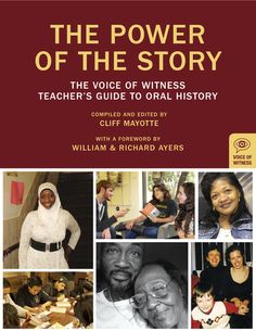 The Power of the Story is a resource for teachers using books in the Voice of Witness series, supporting students to explore contemporary issues through oral history. Social Studies Resources, Teacher Resources, Student Teacher, Student Work, Music And Movement, Oral History, Teaching Strategies, History Books, Lesson Plans