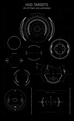 Broadcast HUD Interface Pack | Iron man, Technology and Design