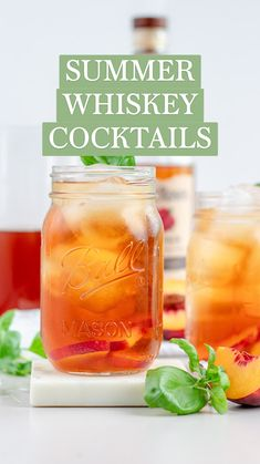 Whiskey Cocktails, Cocktail Drinks, Fun Drinks, Kid Party Drinks, Alcoholic Drinks For Summer, Easy Whiskey Drinks, Orange Juice Alcoholic Drinks, Summer Bourbon Cocktails, Peach Vodka Drinks