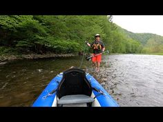 Hang ups & Dragging & Lining...Oh My! A Shallow Water Pine Creek Gorge Paddling Adventure! - YouTube Inflatable Kayak, Hung Up, Shallow, Sling Backpack, Kayaking, Pine, Adventure, Water, Youtube