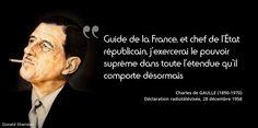 28 septembre 1958 : jour de référendum pour la Constitution de la Ve République. Nos citations sur de Gaulle