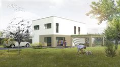 Family house #house #familyhouse #architecture #living #render #visualization
