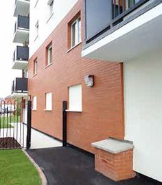 Blacon Towers, Chester.  To upgrade the thermal performance of three 13-storey residential blocks as part of a major regeneration scheme in Chester's Blacon District.   The project was also required to upgrade the visual appearance of the old no-fines concrete structures, with minimal disruption to tenants.